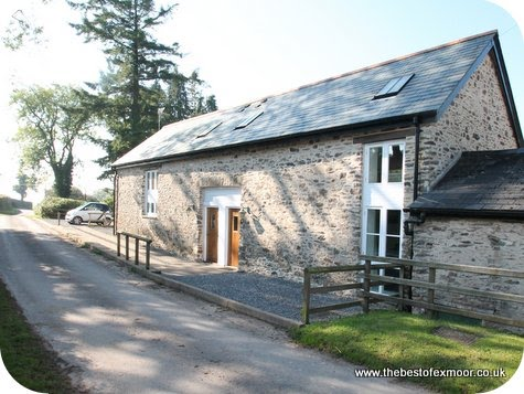 Holiday cottage sleeps 4 on Exmoor