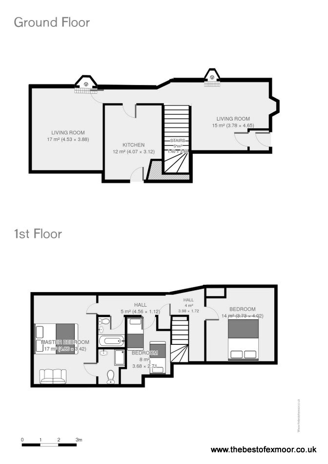 Thyme Cottage floor plan