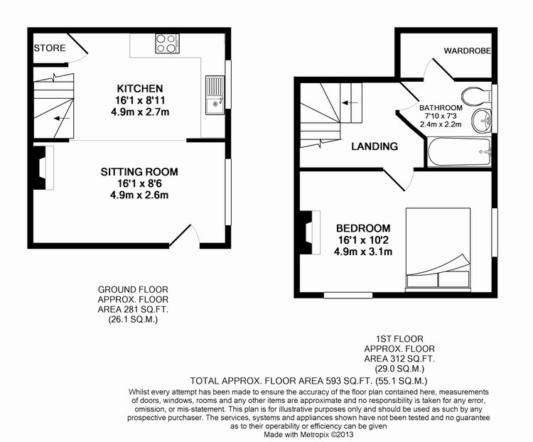 Good Wothy Cottage Floor Plan