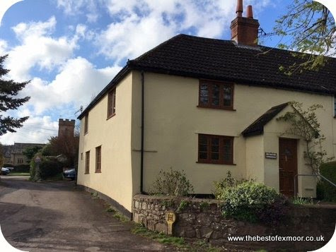 Holiday Cottage Monksilver sleeps 5