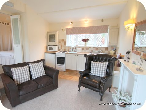 Holiday apartment in Porlock sleeps 2