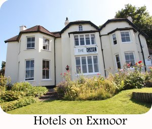 Hotels on Exmoor