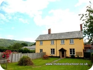 Stay in Luccombe Holiday cottages on Exmoor