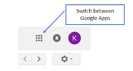 Google switch apps icon