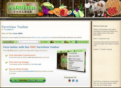 FarmView Toolbar