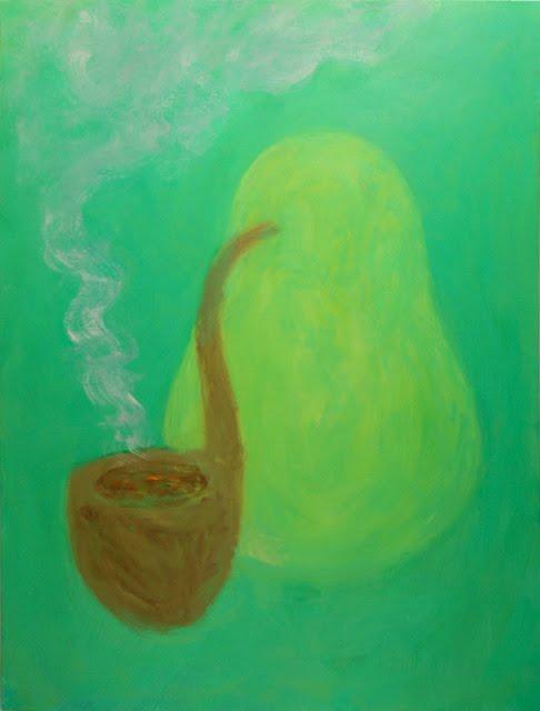 scott reeder artist smoking fruit painting green gallery milwaukee