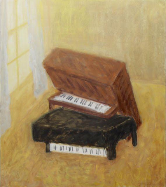 scott reeder artist piano porn painting green gallery milwaukee