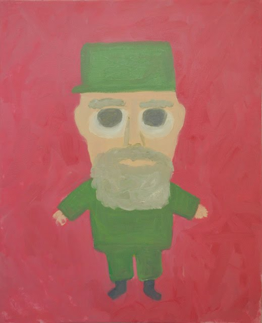 cute communists scott reeder artist painting green gallery milwaukee