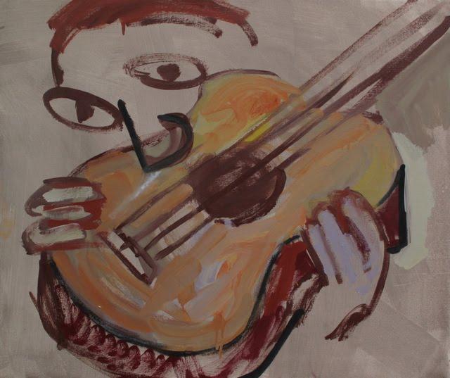 CUBIST COKEHEAD scott reeder paint artist green gallery milwaukee