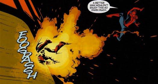 Spider-Man throughout Norman's Dark Reign - The Green Goblin's Hideout