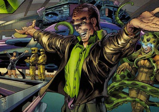 The Return of H.A.M.M.E.R. - The Green Goblin's Hideout