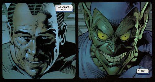 Sins Past-The Gwen Affair - The Green Goblin's Hideout
