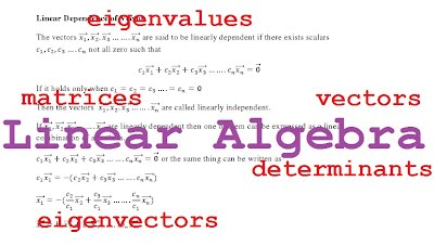 Linear algebra engineer4free: the #1 source for free engineering.