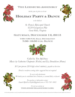 2015 Holiday Party flyer.