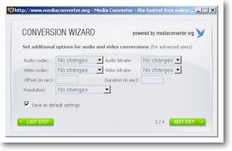 Firefox Add-in - Media Converter