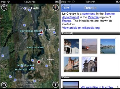 Google Earth for iPhone gets more features
