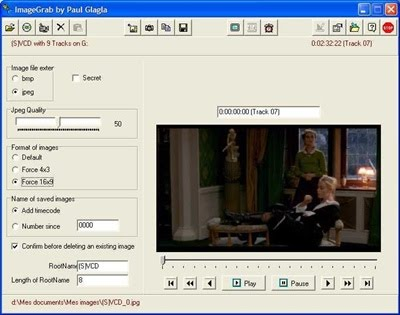 Free Software to Extract Images/screens from Videos or Webcams