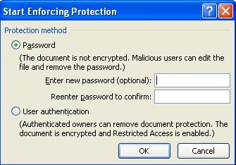 How to protect a document from unintentional editing in Word