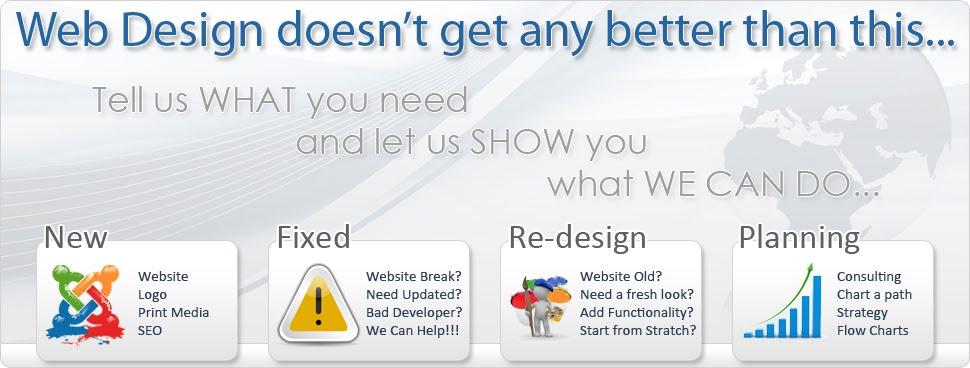 Joomla Website Design | Joomla Web  Design