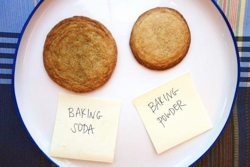 How to substitute baking soda for powder in cookies