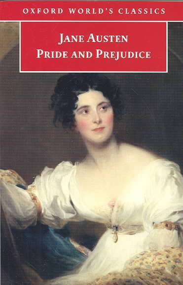 How does Jane Austen treat love and marriage in Pride and Prejudice