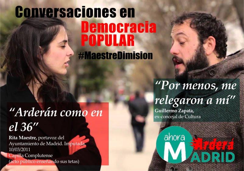 El Centro Jurídico Tomás Moro y HazteOir.org presentan a Carmena 100.000 firmas pidiendo el cese de los concejales violentos.