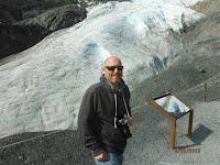 Exit Glacier near Seward Alaska