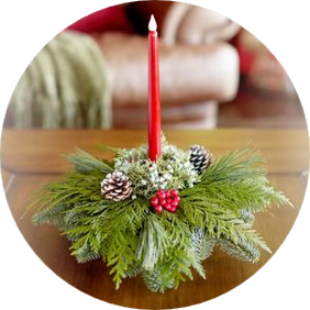 Holiday Gift Centerpiece
