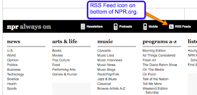 RSS News Feeds using RSS Gadget on your sites - TTSD School Technology