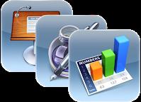 iWork app icons