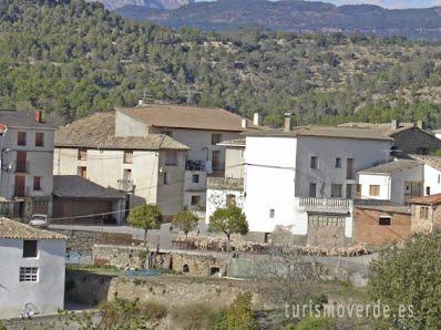 TURISMO VERDE HUESCA. Casa El Francés, en Bellestar de Graus.