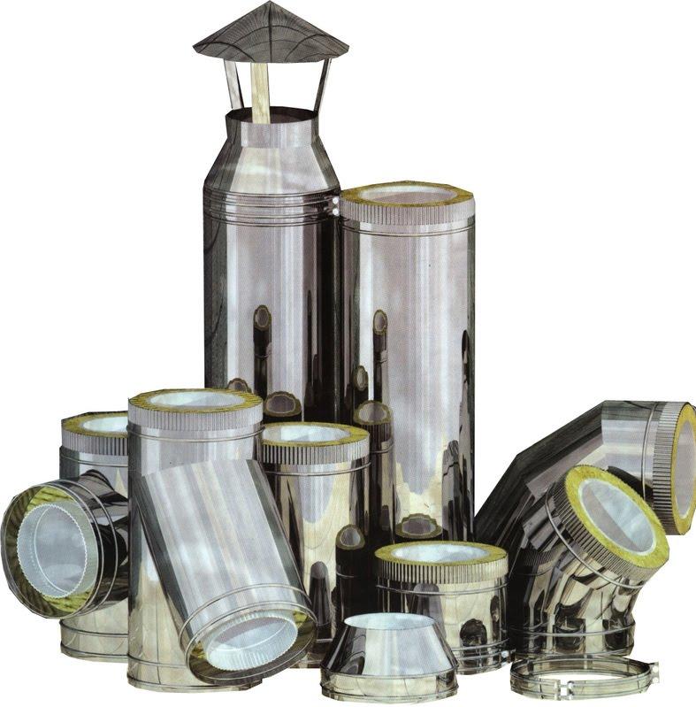 Выбор стального дымохода керамические трубы для дымоходов купить новосибирск