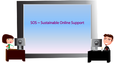 Sustainable Online Support
