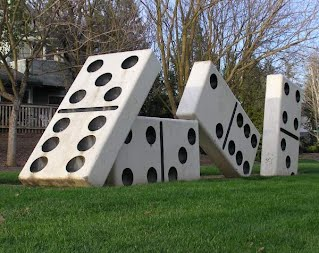 Domino Effect II (1994), by Eddy Hood