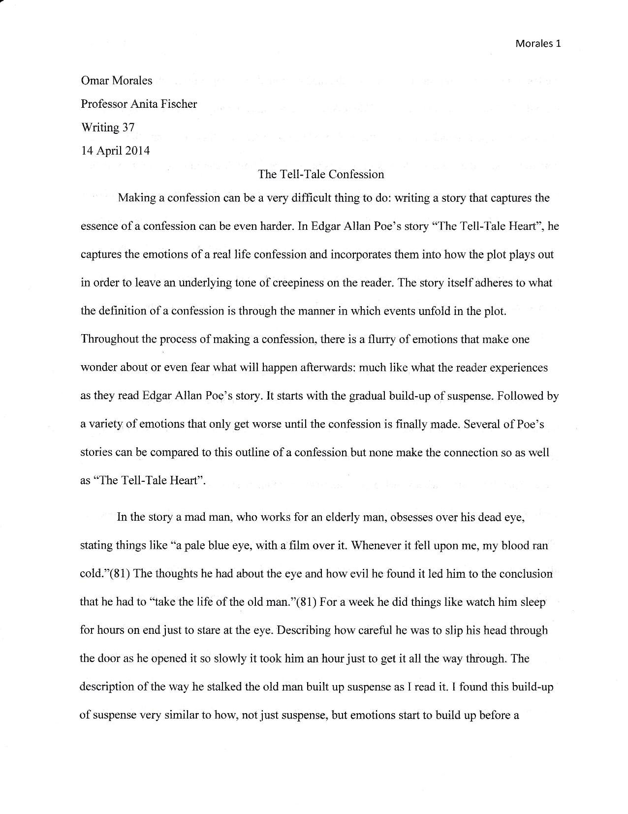 critical reading essay draft omar morales writing portfolio writing didn t so much show potential but it showed where i had room for improvement