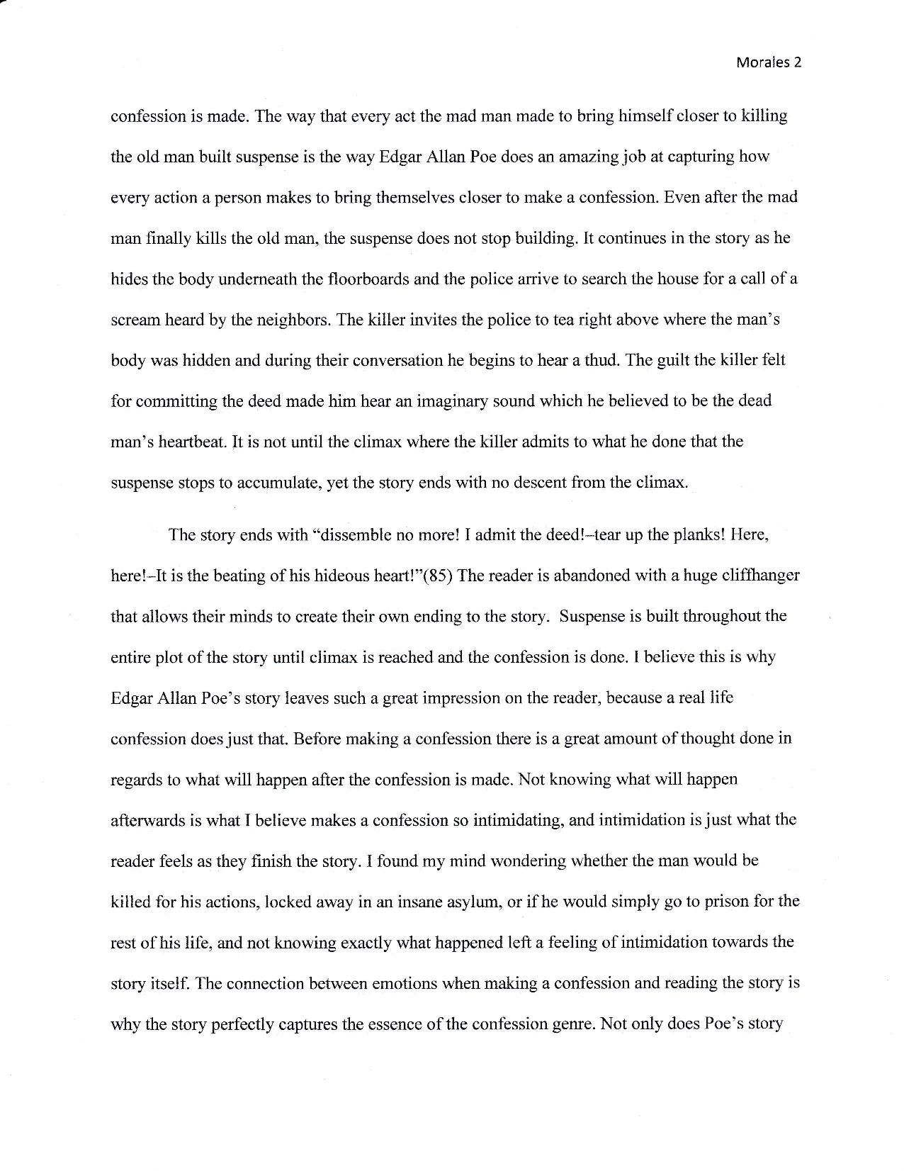 edgar allan poe essay critical reading essay draft omar morales writing portfolio