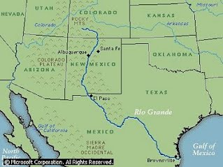 Rio Bravo Mexico Map.Activities Learnet