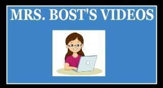 Mrs. Bost's Media Center Videos