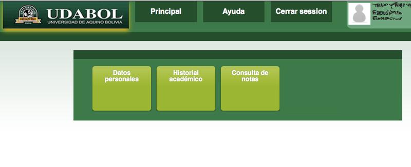 sistema estudiantil