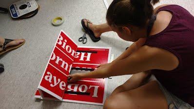 Making a large lean it board