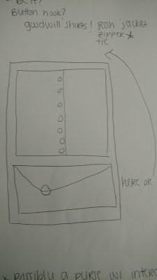 Volunteers create drawings for fine motor maniuplative board plans.