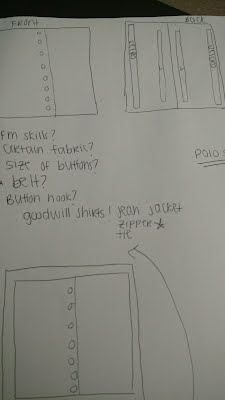 Volunteers drew up plans to create a fine mototr manipulative board.