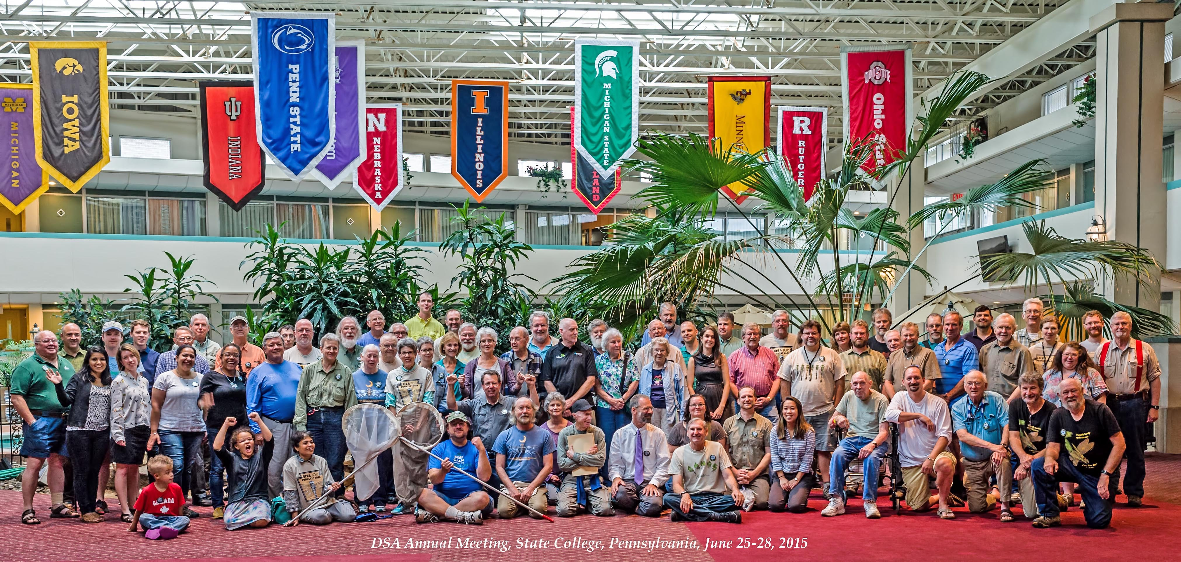 Group Photo - Dragonfly Society Meetings