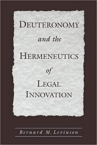 http://www.amazon.com/Deuteronomy-Hermeneutics-Innovation-Bernard-Levinson/dp/0195152883