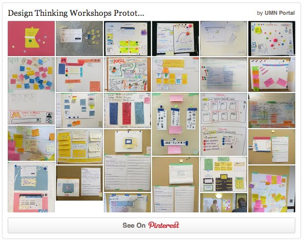 design thinking Pinterest board