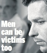 Signs of domestic violence against men