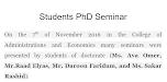 Students PhD Seminar