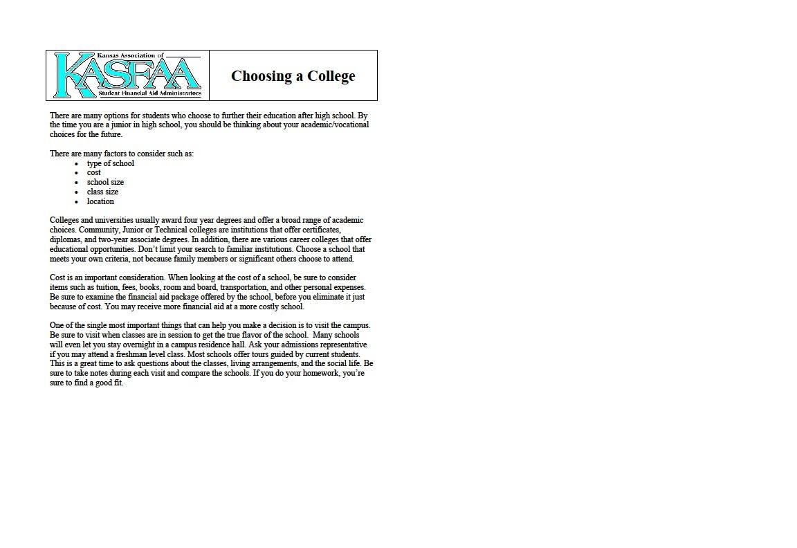 seniors ohscounselors college form