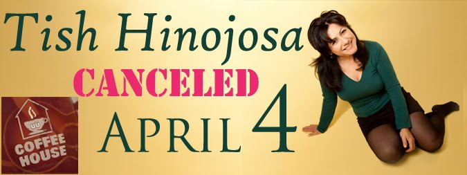 Tish Hinojosa had to cancel her concert for April 4, 2015. We hope for her to visit the UU Coffeehouse again next season.