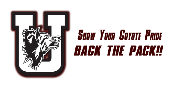 Show your Coyote Pride! Back the Pack!